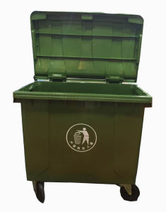 660L Dustbin with 4 Wheels pictures & photos