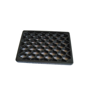 Anti Slip Fabric Impressed Industrial SBR Rubber Flooring Mat for Warehouse pictures & photos