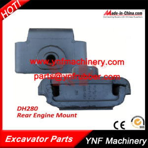 Excavator Parts Daewoo Doosan Dh280 Rear Rubber Engine Mount pictures & photos