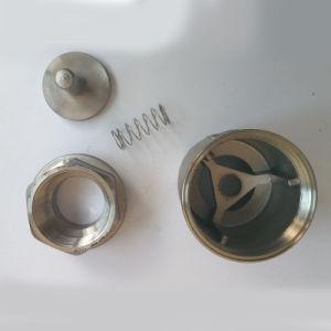 Ss316 Spring Disc Check Valves with NPT Thread pictures & photos