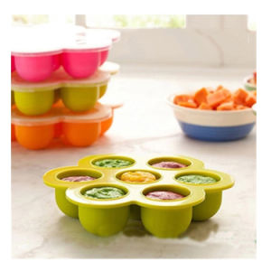 Silicone Freezing and Storing Baby Food Containertray Ice Mould pictures & photos