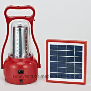 Energy Saving Portable LED Outdoor Lighting Solar Camping Lamp pictures & photos
