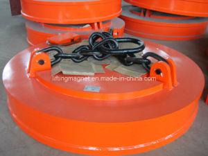 Powerful Electric Magnet on Crane or Excavator pictures & photos