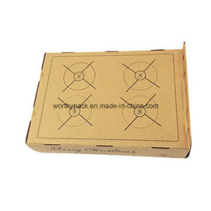 Ecofriendly Kraft Paper Cake Box/Food Box, Made with Kraft Paper and E-Flue pictures & photos