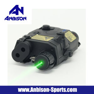 Anbison-Sports Airsoft Peq-15 La-5 Battery Case with Green Laser pictures & photos