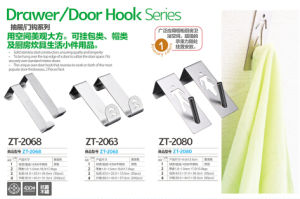 Bathroom Sanitary Ware Stainless Steel Towel Rack Single Hook 2068 pictures & photos