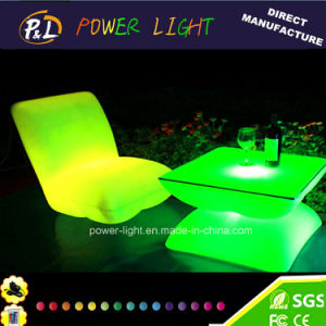 Outdoor Furniture LED Shiny Sofa pictures & photos