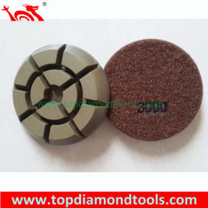 3 Inch Velcro Backed Resin Polishing Pads pictures & photos