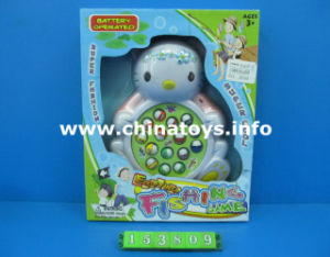 Promotional Battery Operated Fishing Game with Music Toy (153809) pictures & photos