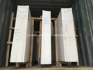 Top Beige/White Calaeatta Marble Slabs for Flooring Tiles/Stair Steps/Bathroom Tiles pictures & photos