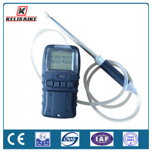 Battery Operated Handheld Detector 4 in 1 Gas Monitor for Co O2 H2s Lel Nh3 So2 CO2 Vocs pictures & photos