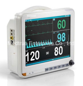 Ce/ISO Medical 12.1 Inch Portable Multi-Parameter Patient Monitor pictures & photos