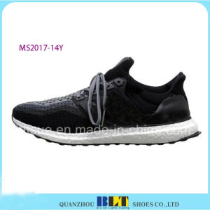 Bestting Flyknit Upper Athletic Shoes for Men pictures & photos