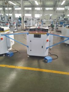 Aluiminum Window Aluminum Profile Single Head Corner Crimping Machine pictures & photos