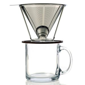 Washable & Reusable Kone Fits Bodum /Kone Coffee Filter for Chemex pictures & photos