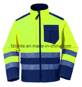 2016 Reflective Workwear High Visibility Safety Jacket pictures & photos