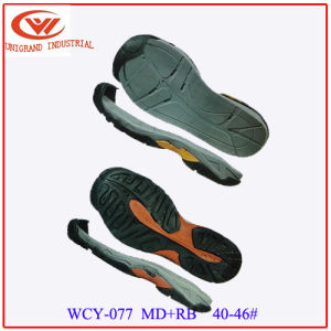 Fashion Summer Sandals Outsole Outdoor Beach Sole with EVA and Rb Material pictures & photos