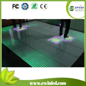 Colorful Changing LED Lighted Glass Bricks for Exhibition pictures & photos