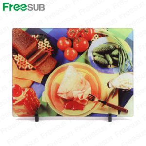 Freesub Sublimation Coated Glass Cutting Board (BL-18) pictures & photos