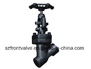 Screwed and Sw Forged Steel Globe Valves pictures & photos