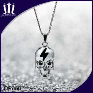 Stainless Steel Punk Skull Pendant with Neckalce pictures & photos