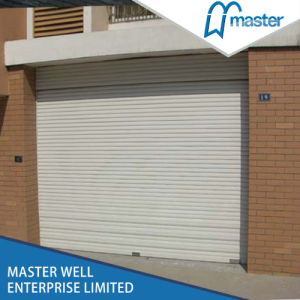 Roller Door (MR. RP77) /Rolling Door Panel/Rolling Garage/ Door/Aluminum Roller Shutter Garage Doors pictures & photos