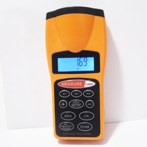 Handle Electronic Ultrasonic Infrared Precision Ultrasonic Distance Meter (LD-001) pictures & photos