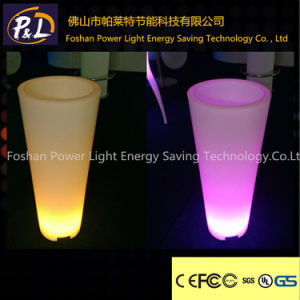 Modern Flowerpot LED Lighting Furniture Plastic LED Planter pictures & photos