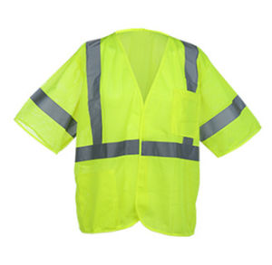 Class 3 ANSI Reflective Safety Vest with Short Sleeve pictures & photos