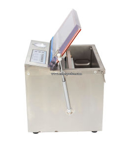 Automatic Stretch Film Vacuum Sealer for Bottle pictures & photos