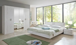 Pure White European Style Bedroom Furniture Set (HF-EY055) pictures & photos
