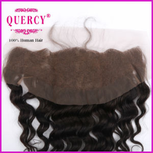 "Grade 8A 100% Brazilian Frontals 8′′ to 24""′ Ear to Ear 13X4 Swiss Lace Closure Frontal pictures & photos"