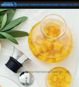 Round Glass Cold Water Beverage Drink Pot for Summer pictures & photos