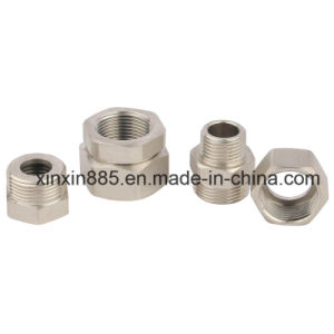 Nickle Plating Brass Fittings for Water Pipe pictures & photos