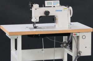 Heavy Duty Thick Thread Ornamental Stitching Sewing Machine pictures & photos