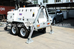 H1000 Series Mobile Light Tower Generator Set/Diesel Generator pictures & photos