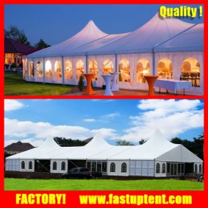 15X20m High Peak Mixed Dome Wedding Tent for 300 Seater pictures & photos