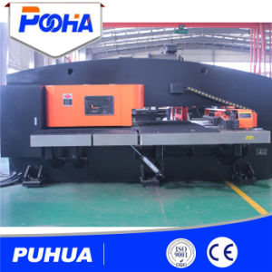 Steel Sheet Hydraulic CNC Turret Punching Press Machine pictures & photos