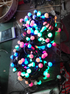 LED Ball String Light Outdoor Christmas Decoration Suppliers pictures & photos
