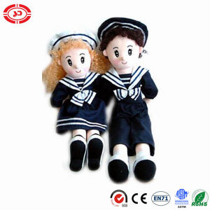 Navy Sitting Couple Cute Stuffed Plush Toy Doll pictures & photos