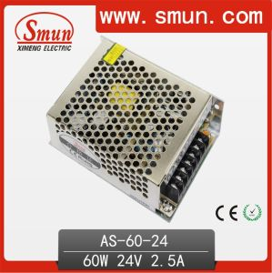 60W 24VDC 2.5A Switching Mode Power Supply (SMPS) as-60-24 pictures & photos