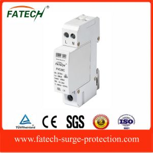 china supplier electrical protection tvss New 9mm/pole 40kA surge protection device pictures & photos