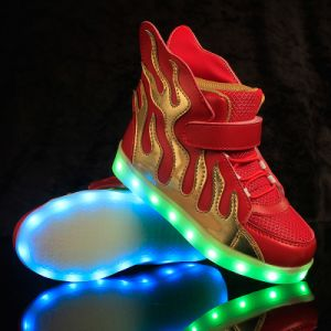 Wholesale Fashionable LED Shoes for Children From Jinjiang Factory, Kids Shoes pictures & photos