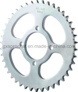 Motorcycle Rear Sprocket for Suzukii Ax100 pictures & photos