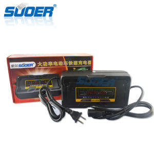 Suoer 48V High-Power Fast Battery Charger for Electric Vehicle (SON-4880D) pictures & photos