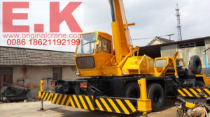 Kato Japanese 20ton Mobile Hydraulic Truck Mounted Crane (NK200E) pictures & photos
