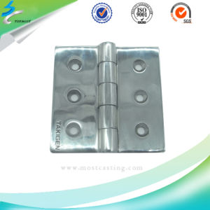 Stainless Steel Plain Hinges in Lost Wax Casting pictures & photos