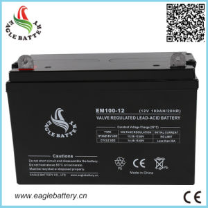 12V 100ah Long Life Sealed Lead Acid Battery for UPS
