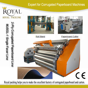 2-Layer Corrugated Paperboard Production Line pictures & photos