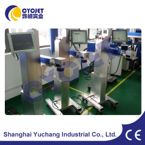 Cycjet Industrial Laser Printer for Electronic Cable pictures & photos